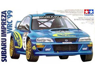 Boxart Subaru Impreza WRC '99 24218 Tamiya