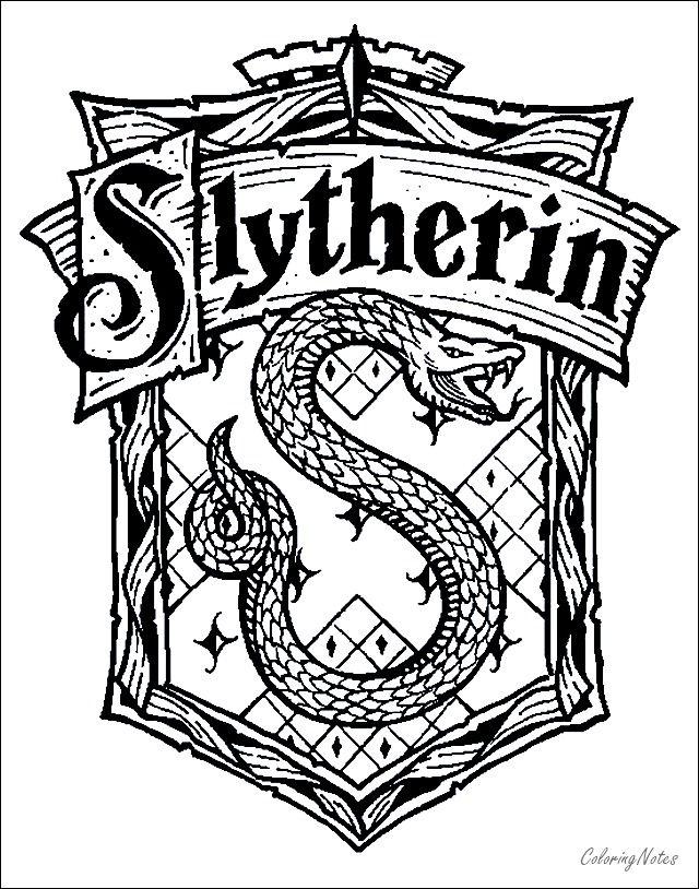 Harry Potter Coloring Pages Slytherin Harry Potter Silhouette Harry Potter Schrift Harry Potter Kinder
