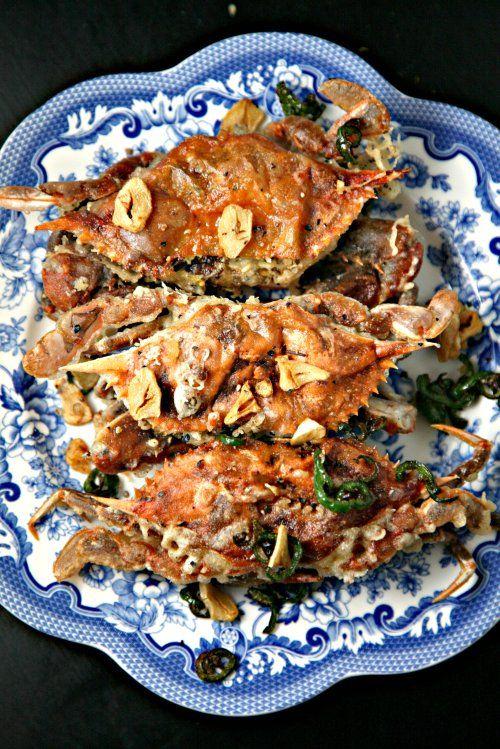 Crispy Salt and Pepper Soft Shell Crab
