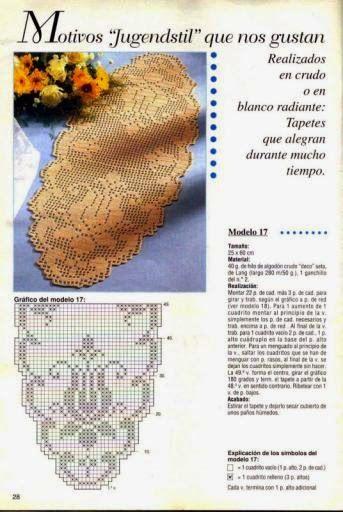 Kira scheme crochet: Scheme crochet no. 703