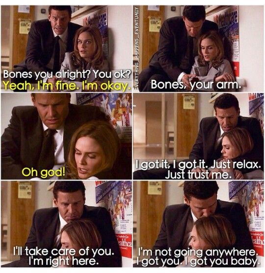 Booth and Brennan #Bones