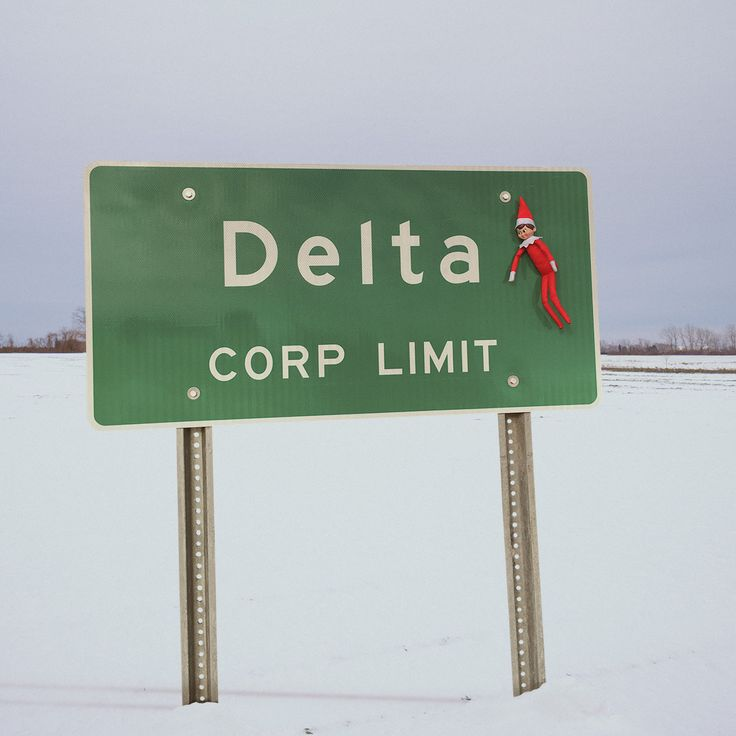 After a thorough interrogation at the border, Frankie has made it to Delta, OH! Let the adventures begin! #Ohio #Adventure #ElfOnTheShelf