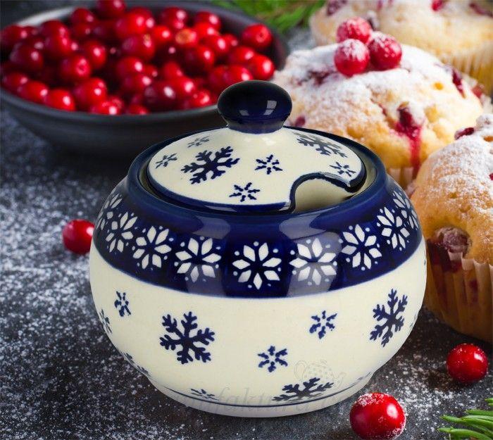 Sugar bowl Bolesławiec