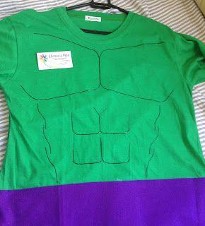 Camisa do Hulk