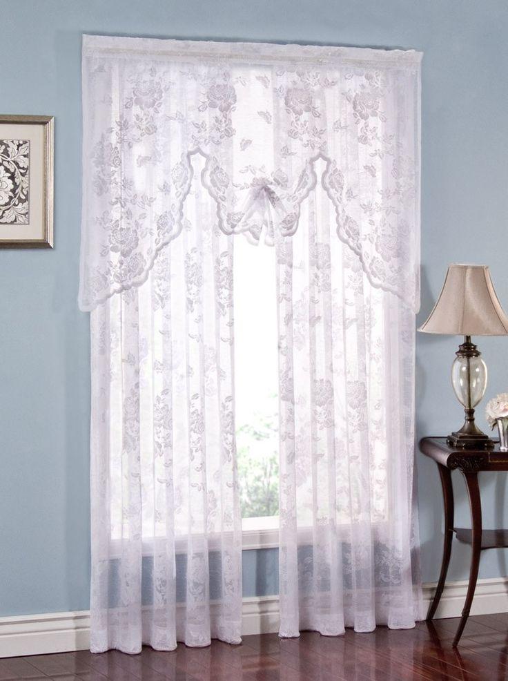 company j sibelia lace right r panel curtains burrows curtain