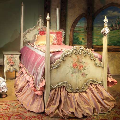 A real princess bed!: Girls, Idea, Girl Room, Beds, Dream, Shabby Chic, Bedrooms, Kid