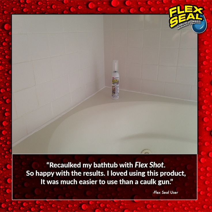 U201cRecaulked My Bathtub With Flex Shot. So Happy With The Results. I Loved