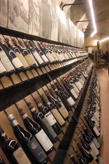Wine shop - Barolo, province of Cuneo, Piemonte region italy