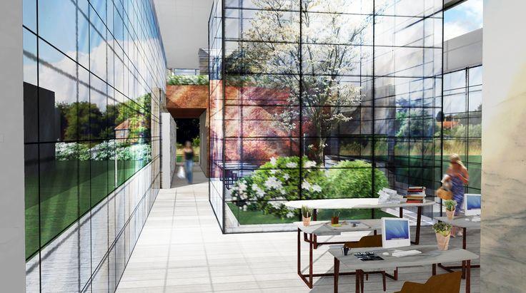 #Rendering #Interiordesign Ufficio open space