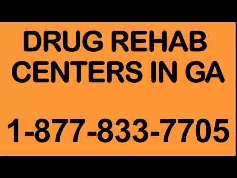 Drug Rehab Centers in GA - 1-877-833-7705  If you are looking for a Drug Rehab Centers in GA then you should really consider watching this video.  It provides you with a contact phone number for a call center staffed 24/7 by trained addiction professionals who understand the problems of addiction who can you get you into Drug Rehab Centers in GA.