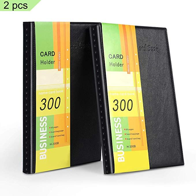 Farielyn X Business Card Holder Journal Business Card Organizer Professional Pu Leather Name Card Boo Business Card Organizer Card Book Business Card Holders