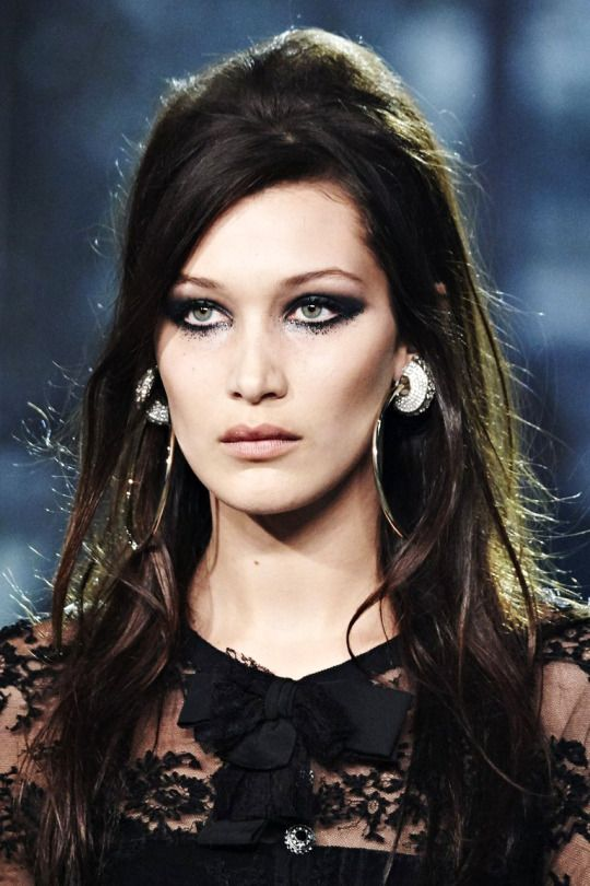 Bella Hadid - Beauty at Chanel Pre-Fall 2016.