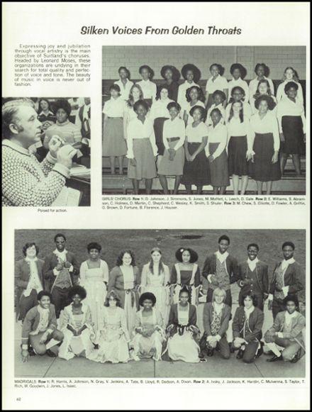 1978 Suitland High School Yearbook via Classmates.com
