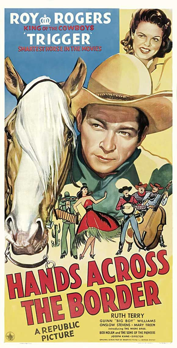 1944 Movie posters | Hands Across the Border