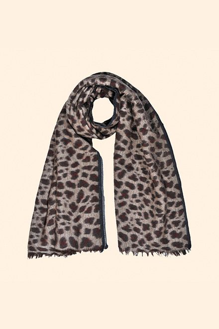 Une echarpe leopard