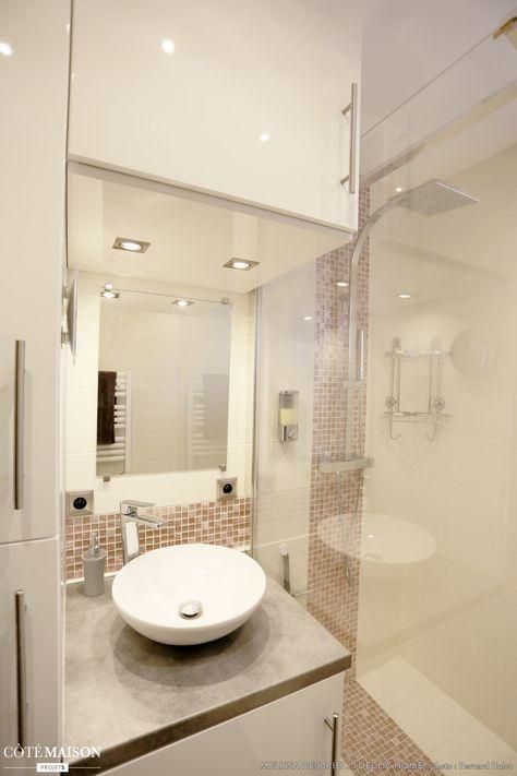 les 25 meilleures id es de la cat gorie salle de bain 3m2 sur pinterest pi ces d 39 eau porte. Black Bedroom Furniture Sets. Home Design Ideas