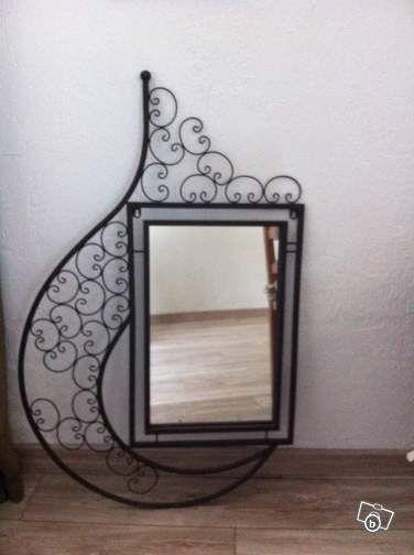 Miroir sur fer forgé Décoration Bouches-du-Rhône - leboncoin.fr