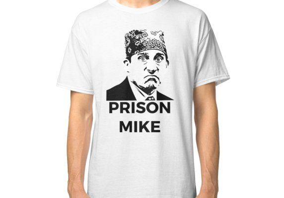 Prison Mike The Office Unisex Youth Shirt
