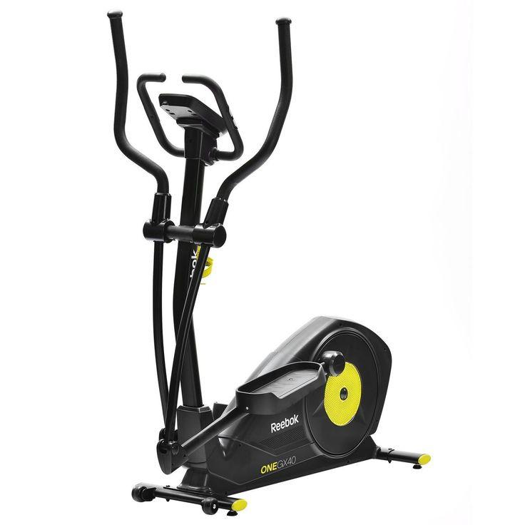 A Reebok One GX40 elliptikus tréner átfogó kardiovaszkuláris edzést tesz lehetővé, egyszerre dolgoztatva a felsőtest és alsótest izmait.