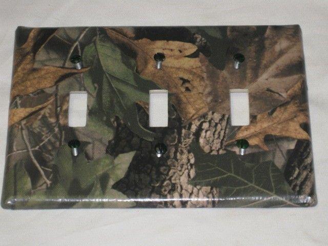 Details About Mossy Oak Camo Bear Deer Moose Light Switch