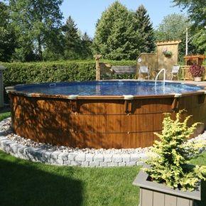 Piscine bor ale hors terre ajoutez une touche de finesse for Club piscine pools