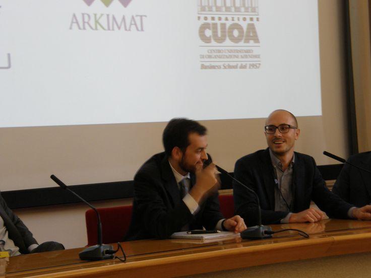 Michele Riccioni (Ariston Thermo) e Paolo Tebaldi (COMAU)