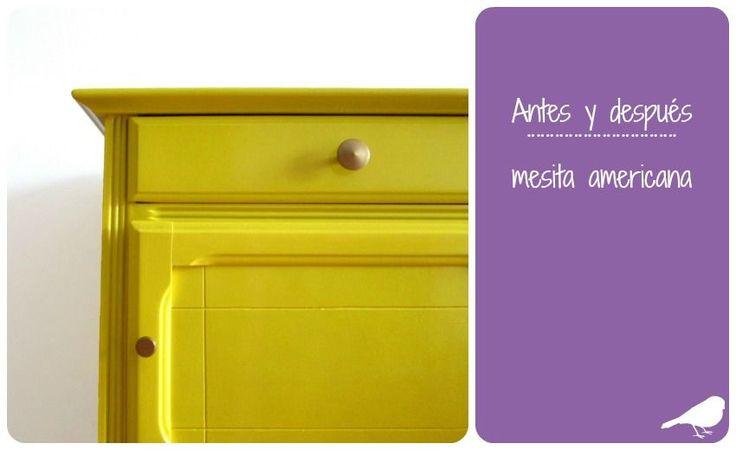 ¡Dale color a tus viejos muebles!