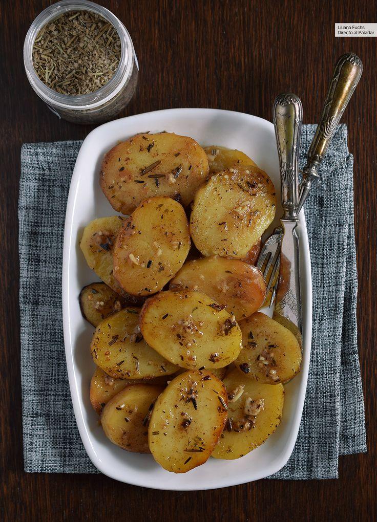 Patatas asadas que se derriten en la boca: deliciosa receta de guarnición