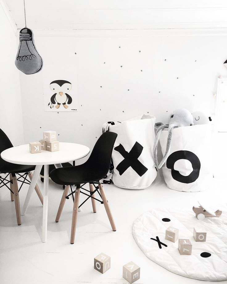 Scandi Monochrome perfection for a kids room by @verothesan on Instagram ❤️