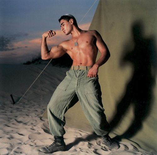 Israel Defence Forces,  photography Adi Ness, 1996