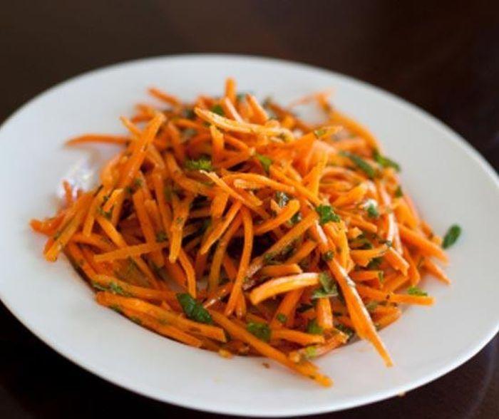 Маринованная морковь по-французски