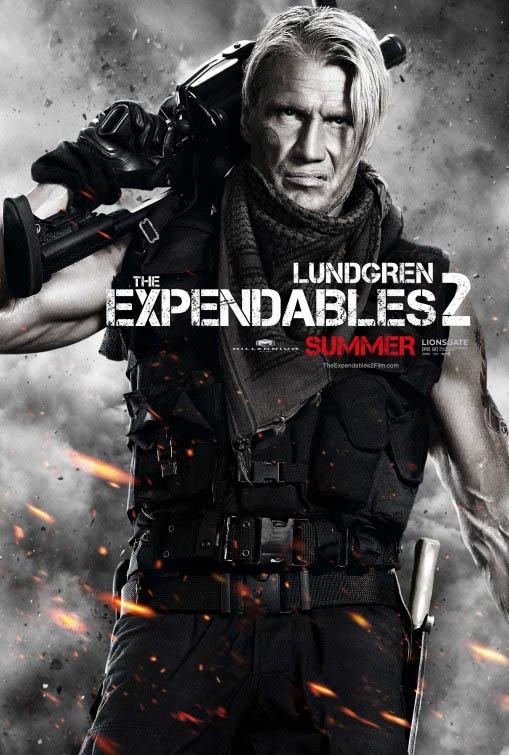 Dolph Lundgren en 'Los Mercenarios 2'
