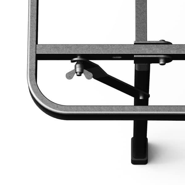 Priage By Zinus 18 Inch High Profile Smartbase Black Platform Bed