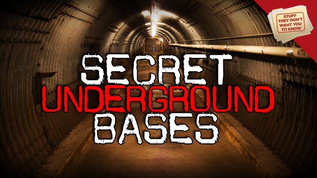 The World's Underground Bases - How many underground bases exist today? Is there any way to figure out what's stored in the world's various secret bunkers? Learn more in this Stuff They Don't Want You to Know video.