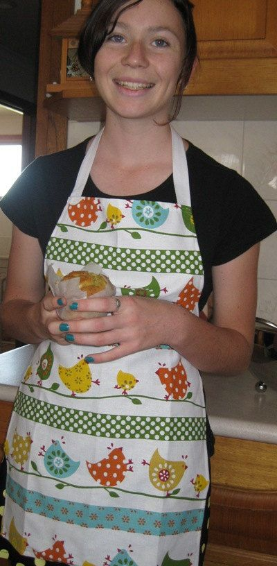 Handmade children's apron. Perfect for any kids who like to help in the kitchen!  https://www.etsy.com/listing/185066601/childrens-aprons