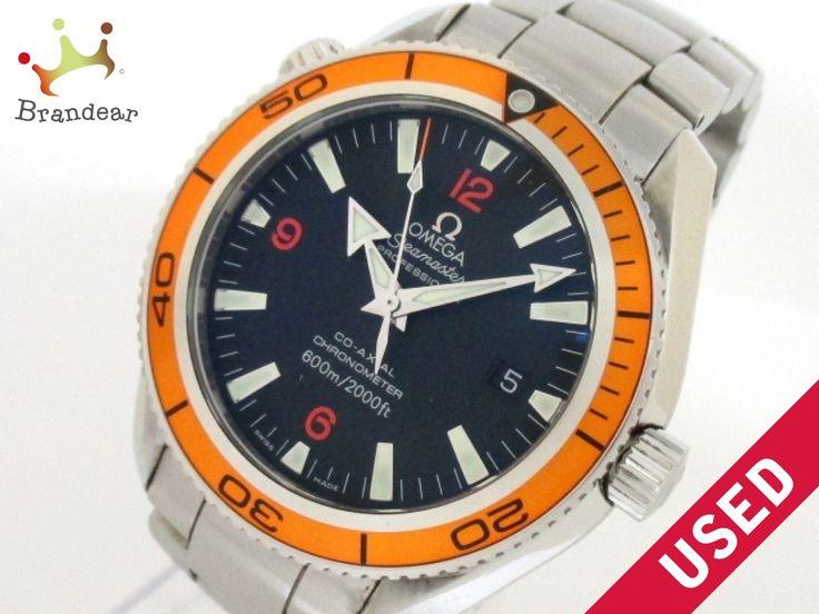 【新着】オメガ 腕時計 シーマスタープラネットオーシャン 2209.50 SS 黒【20160710】【中古】