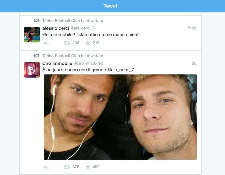 Ciro e Alessio su Twitter