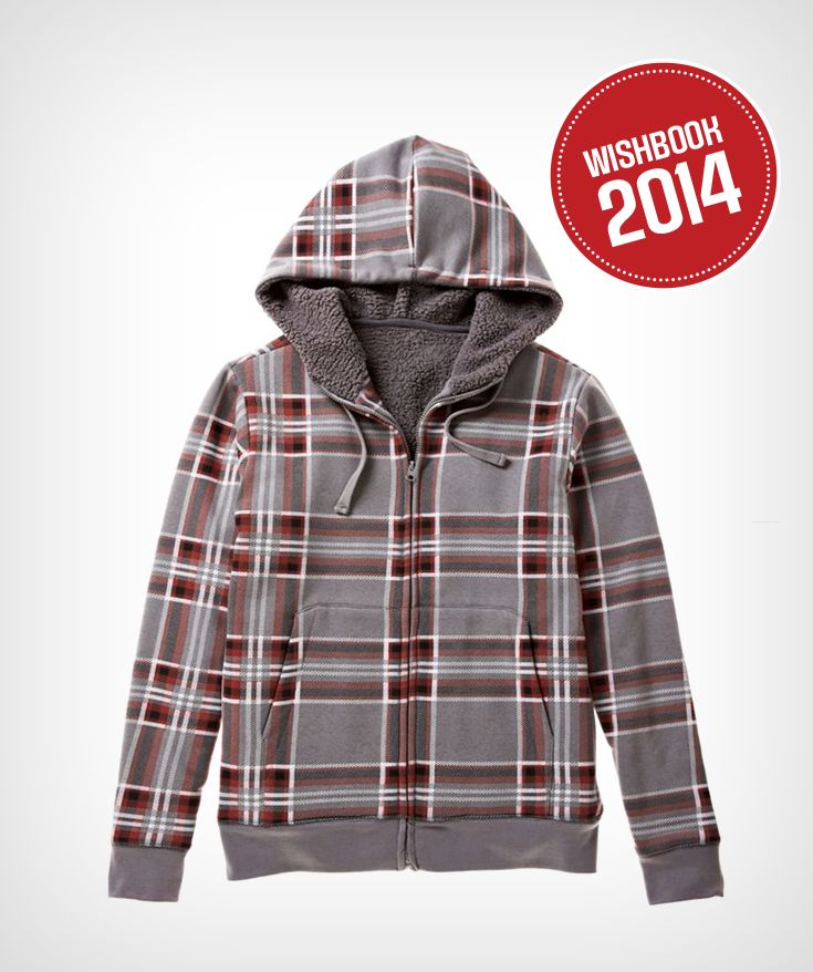 A winter staple for men – casual and warm full zip hoody