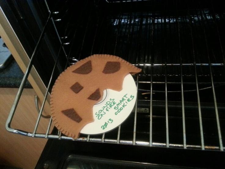 Felt Cookie CD case