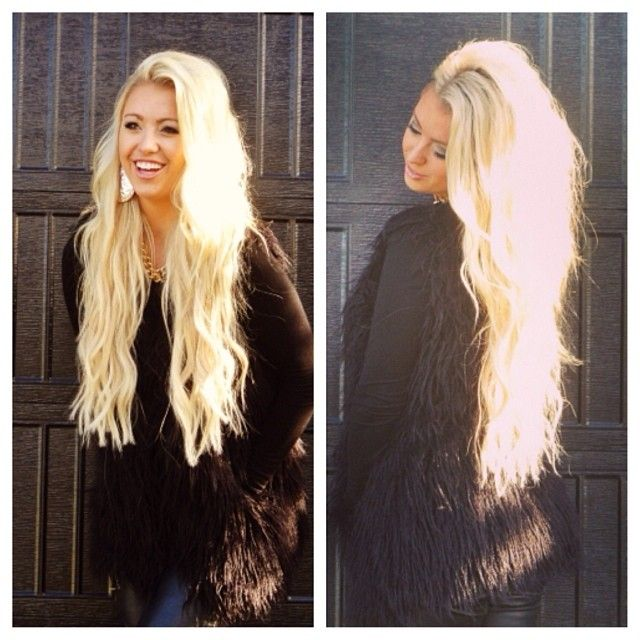 Dying Blonde Extensions Darker 16