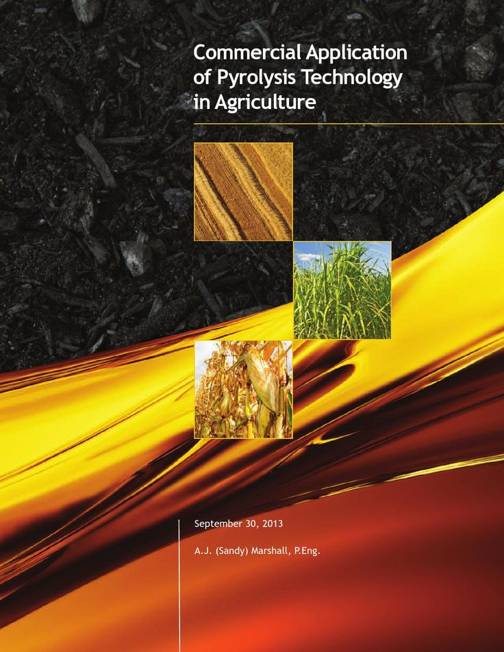Commercial application of pyrolysis technology in agriculture  Commercial Application of Pyrolysis Technology in Agriculture