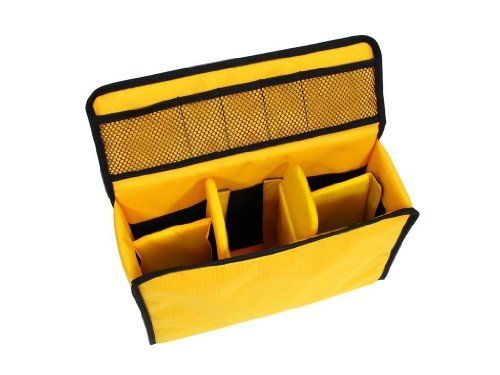 Camera Bag insert, would fit into any large bag or satchel. Perfect for the photographer who loves to change purses all the time.