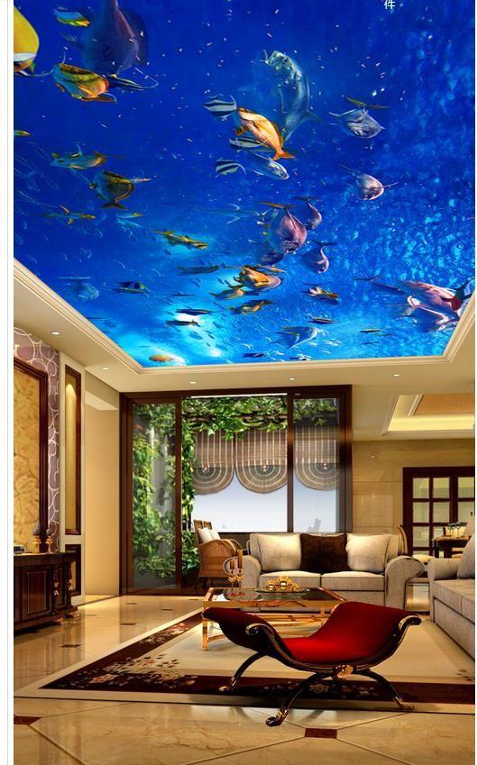 25 beste idee n over behang plafond op pinterest ster for Wat is vliesbehang
