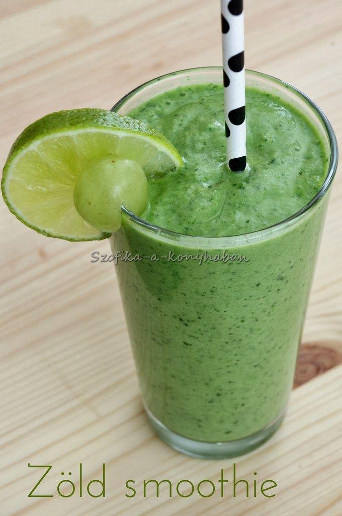 Szofika a konyhában...: Zöld smoothie
