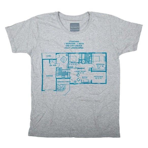 間取りⅡ デザインTシャツ