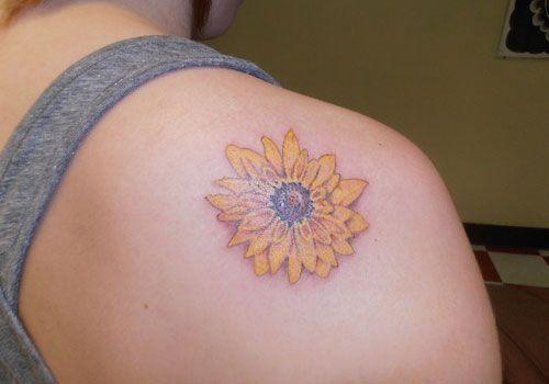 Marigold Glory-October birth flower | Tattoo Ideas | Pinterest