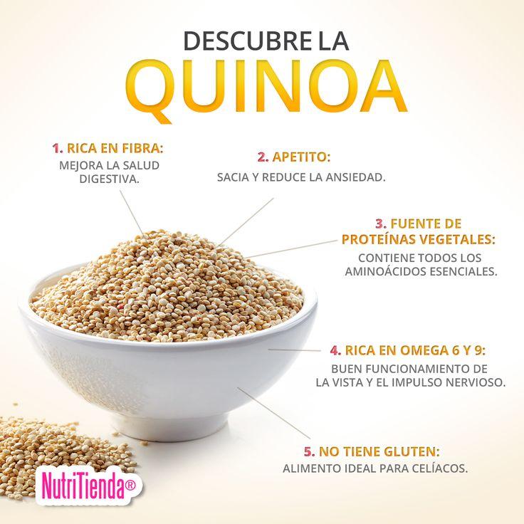 La quinoa cada día está más de moda por su versatilidad y sus valiosas propiedades nutricionales. ¿Quieres conocer todos sus beneficios? No te los pierdas aquí ➡ http://blog.nutritienda.com/beneficios-de-la-quinoa/