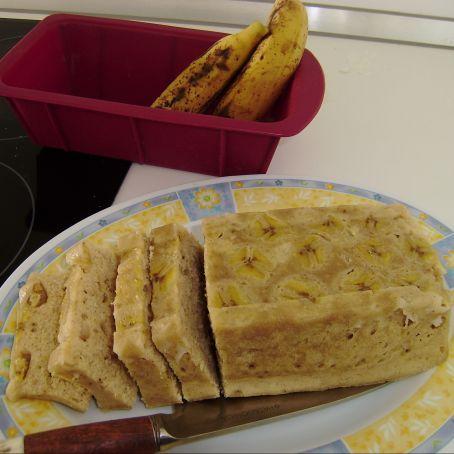 Plum cake alla banana al microonde