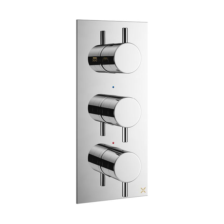 Mike Pro thermostatic shower valve 3 control