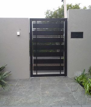 amazing modern home gates ideas 20 - Gate Design Ideas